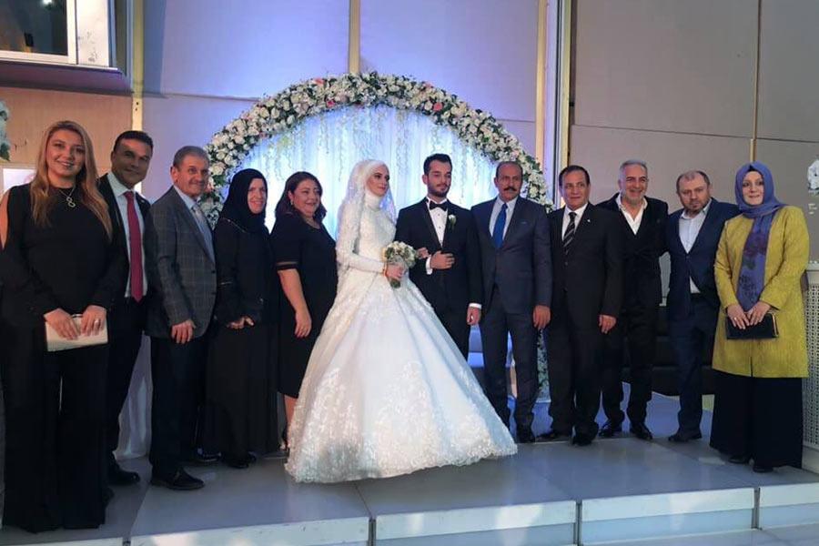 Bilge Betül Süver Ve Emirhan Enes Temizel'in Düğününe Katıldık