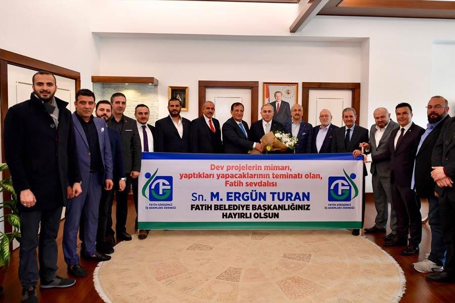 Göreve Başlayan Sn. Mehmet Ergün Turan'a Başarılar Diledik