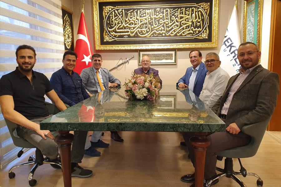 Fatih SGK Müdürü Coşkun Bilgin İle İstişare Toplantısı